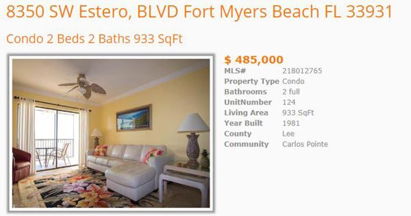 Lovers Key Beach Resort Condos For Sale
